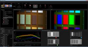 HSI Aufnahme eines Colorcheckers